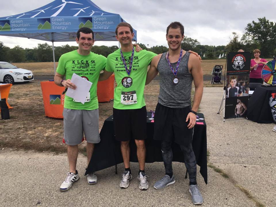 Award winners at the 2016 5K race